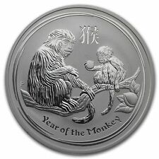 Lunar Series Year of the Monkey Coin Novelty Gift Birthday Christmas Luck
