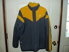 "Boy's, ""NIKE REVERSIBLE HEAVY WINTER JACKET"", size 14/16, yellow & gray, warm!!"
