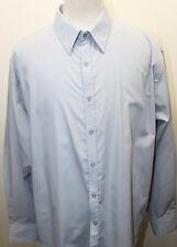 Vroom & Dreesmann Black Label Gray Men's Long Sleeve Dress Shirt XL