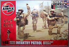 "AIRFIX 1:48 SCALE BRITISH FORCES INFANTRY PATROL ""OPERATION HERRICK"""