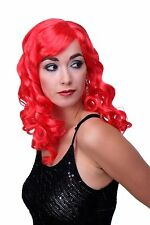 Carnival Wig Wig Curl Long Carnival Pony Red Bright red LM-142-PC13