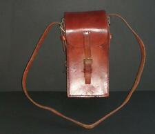 Old WW1 ?? quality leather cavalry ammunition case ?? - excellent condition