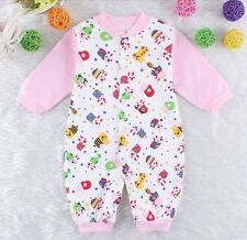 Hot Newborn Girl boy Outfit Romper Baby clothes Infant Clothes Pink 6-9 Month