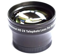 Pro HD 2x Telephoto Lens For Panasonic Lumix DMC-LX7K DMC-LX7W DMC-LX7