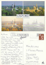 1992 FOUR SEASONS IN OXFORD OXFORDSHIRE OVERSIZED COLOUR POSTCARD