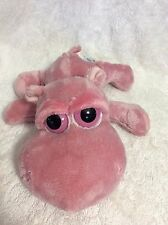 Russ Berrie Jovita The Hippo Lil' Peepers W/Big Eyes HTF Plush Stuffed Animal