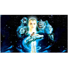 The NeverEnding Story Noah Hathaway Riding Falcor Montage 8 x 10 inch photo