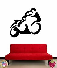 Wall Stickers Vinyl Decal Motorcycle Bike Racing Extreme Sports Speed z1157
