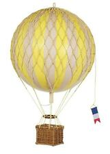 Authentic Models Hot Air Balloon Yellow Mobile 18cm