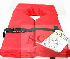 RED PDF UNIVERSAL ADULT LIFE JACKET Type II Red Keyhole Life Vest