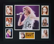 Taylor Swift Limited Edition Framed Signed Memorabilia