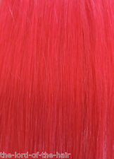 "AMERICAN DREAM QUICK FIX CLIP IN EXTENSIONS 100% HUMAN HAIR 18"" No V88 PINK"