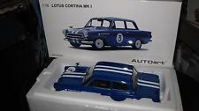 AUTOart 1/18 BIANTE FORD LOTUS CORTINA MK I JIM McKEOWN NEPTUNE RACING TEAM #3