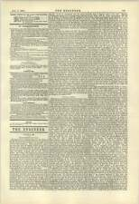 1884 Report On Automatic Brakes After Penistone Railway Accident
