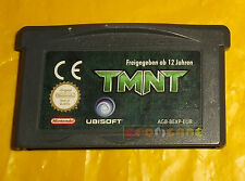 TMNT (Teenage Mutant Ninja Turtles) Game Boy Advance Gba SOLO CARTUCCIA - CU