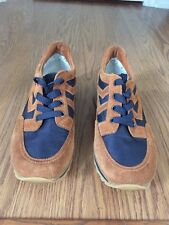 Gently Worn Women's Marc By Marc Jacobs Blue And Brown Sneakers Size 37 1/2