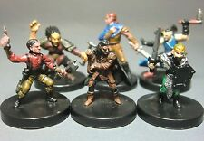 Dungeons & Dragons Miniatures Lot  Gnome Halfling Player Characters !!  s91