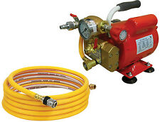 Electric Hydrostatic Test Pump 3/4 H.P, 500 Psi, with 15 ft. hose- Reed EHTP500