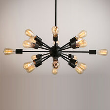 Sputnik 18 Lights Retro Vintage Industrial Loft Chandelier Ceiling Pendant Light