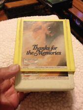 "New listing Vintage 8 Track Set ""Thanks For The Memories"" 3-pack"
