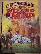 Christopher Stasheff A WIZARD IN MIND 1st Edn USHC First Chronicle Rogue Wizard