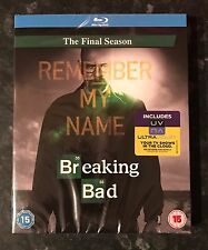 BREAKING BAD SEASON 5 & UV CODE NEW & SEALED MINT CONDITION FREE POST