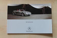 Mercedes SLK 200 K 280 350 55 AMG R171 Prospekt 08/2005