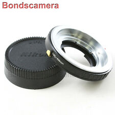 AF confirm Voigtlander Retina DKL Lens to Nikon F mount Camera Adapter D600 D800