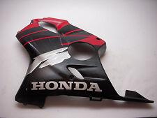 64460-MBW-000 Left Mid Fairing Cowl Lower Honda CBR600 F4 Black Red 1999-00