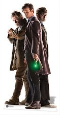 The Three Doctors LIFESIZE CARDBOARD CUTOUT War Dr Doctor Who 50th Anniversary