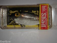 Storm ThinFin Silver Shad Pre Rapala Fishing Lure T103 RED LABEL Metallic Silver