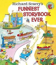Richard Scarry's Funniest Storybook Ever!-ExLibrary