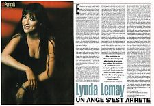 Coupure de presse Clipping 2005 (2 pages) Lynda lemay