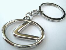 LEXUS KEY CHAIN RING FOB IS250 IS350 IS NX300H ES350 ES RX350 RX 2014 2015 ROUND