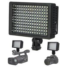 Pro HD-160 LED Video Light Lamp For Canon Nikon Pentax DSLR Camera DV Camcorder