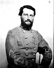 New 8x10 Civil War Photo: CSA Rebel Confederate General Steven Dill Lee