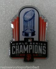 2014 SAN FRANCISCO GIANTS WORLD SERIES CHAMPIONS CHAMPS TROPHY PIN IN STOCK NEW
