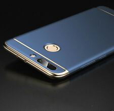 Honor 8 3in1 Hybrid pc Hard Back Cover Electroplating Case For Honor 8 Blue
