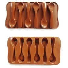 New Baking Mould Spoon Chocolate Cake Biscuit Candy Jelly Mold Decor Silicone