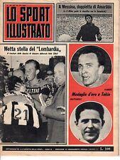 [AZ1] LO SPORT ILLUSTRATO ANNO 1964 NUMERO 43 PAMICH MATTARELLI MEDAGLIE D'ORO