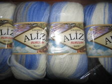 KNITTING WOOL & YARN - 5 x 100g - ALIZE BURCUM BATIK - MULTI COLOURED - 4693