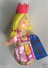 "PRINCESS - WOODEN HEADED ""TELL A TALE"" FINGER PUPPET FIESTA CRAFTS - BRAND NEW!"