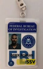 Criminal Minds ID Badge - Derek Morgan costume prop cosplay