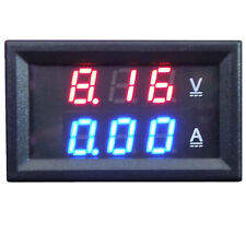 2 in 1 LED Digital Display Voltage Current Amp Volt Combo Meter Tester 100A