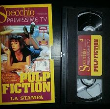 Pulp Fiction (VHS, 1996) Samuel Jackson John Travolta - vintage no dvd no disney