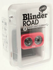 KNOG BLINDER ROAD 2 Bike Headlight Red 200 Lumens 2 White LED USB Charger NEW