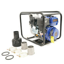 "Multi-Purpose Pump 6.5hp 2"" Gas Water Pump Semi Trash Pump 2 inch Inlet Outlet"