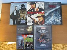 6 MOVIES + ULTIMATE 4 WHEELING DVD-CASINO ROYALE,3:10 TO YUMA, PERFECT STORM,ETC