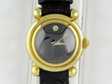 NEW VINTAGE MOVADO 110TH ANNIVERSARY WOMEN'S BUBBLE 18K GOLD AUTOMATIC WATCH