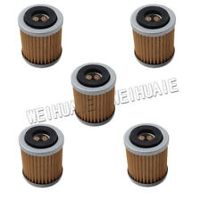 5 x Oil Filter For YAMAHA TTR250 WR250F WR400F WR426F YZ250F YZ400F YZ426F